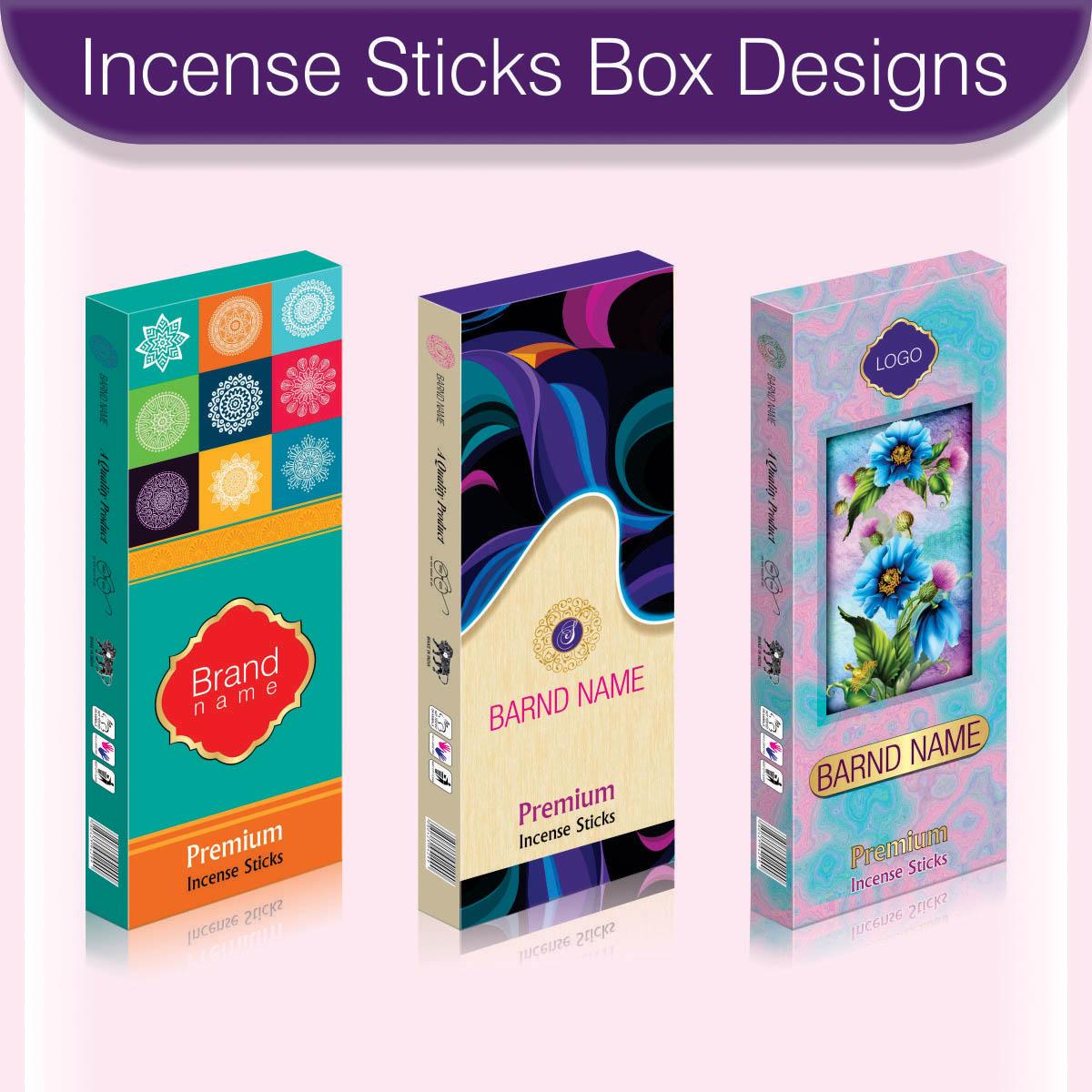 Incense Sticks Box Designs Design Sagar